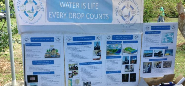 ST. KITTS WATER SERVICES DEPARTMENT EDUCATES TO REVERSE CULTURE OF WATER WASTE